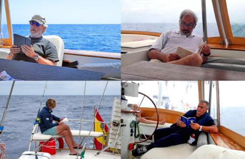 6.-Lectura a bordo